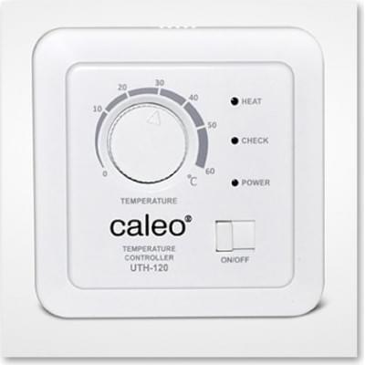 Купить Терморегулятор для теплого пола CALEO UTH-120 (встраиваемый) Терморегулятор Caleo для теплого пола polvteplo.ru