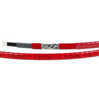 Купить Греющий кабель внутрь трубы HEATUS 13MSH-2 CR (внутрь трубы, пищевой)  Саморегулирующийся кабель Heatus на отрез polvteplo.ru