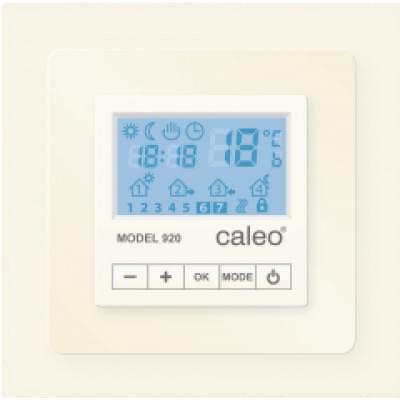 Купить CALEO 920 бежевый, программируемый с адаптерами (Legrand, Valena) Терморегуляторы polvteplo.ru
