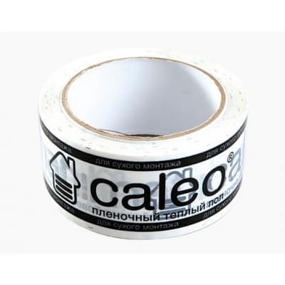 Купить Скотч с логотипом CALEO универсальный белый Комплектующие Caleo polvteplo.ru