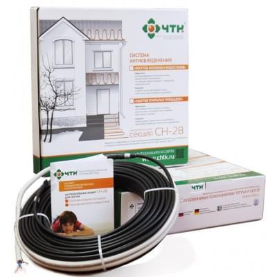Купить Греющий кабель ЧТК СН-28-1848 Вт (66,0 м) Греющий кабель ЧТК СН-28 для кровли и площадок polvteplo.ru