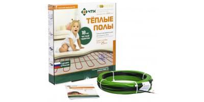 Тонкий одножильный кабельный пол ЧТК СНОТ-15 Вт/м