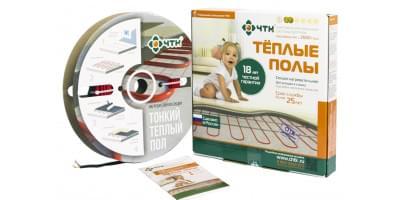 Тонкий кабельный пол ЧТК СНТ-18 Вт/м