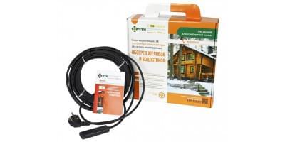 Греющий кабель ЧТК для систем снеготаяния