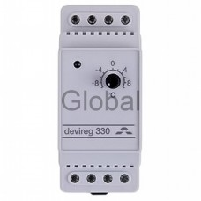 Терморегулятор для греющего кабеля Devireg Д-330, -10°C-+10°C ,с датч. на проводе