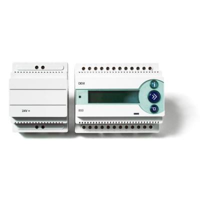 Купить Терморегулятор Д-850 II с источником питания 24 В  Терморегулятор для греющего кабеля polvteplo.ru