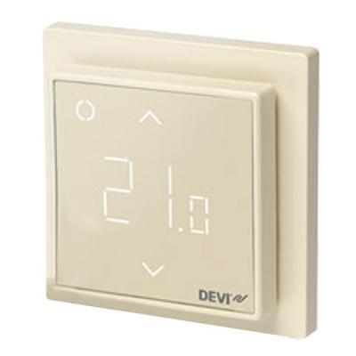 Купить Терморегулятор для теплого пола Devireg Smart Ivory c WI-FI Терморегуляторы Devi для теплых полов polvteplo.ru
