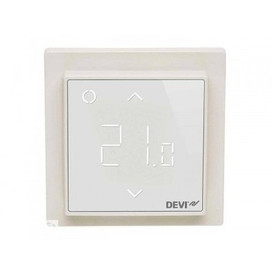 Купить Терморегулятор Devireg Smart Pure White c WI-FI  Терморегуляторы polvteplo.ru