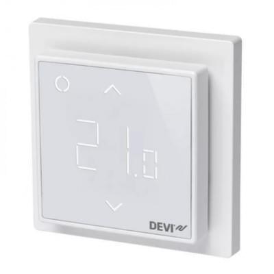 Купить Терморегулятор для теплого пола Devireg Smart Polar White c WI-FI Терморегуляторы Devi для теплых полов polvteplo.ru