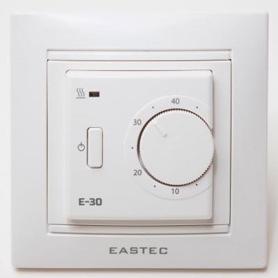 Терморегулятор для теплого пола Eastec E-30 (white)