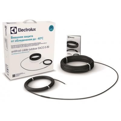 Купить Греющий кабель для кровли и ступеней Electrolux EACO-2-30-1100 (38 метров) Греющий кабель Electrolux EACO для кровли и ступеней polvteplo.ru