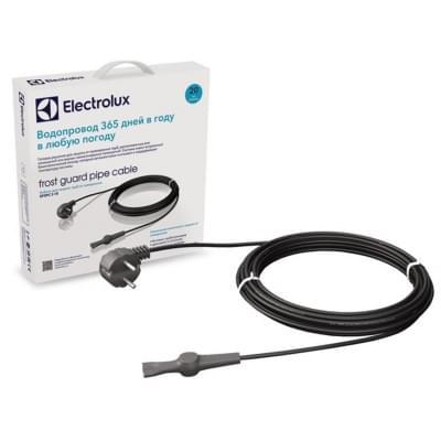 Купить Греющий кабель для кровли и ступеней Electrolux EFGPC-2-18-2 метра Electrolux EFGPC комплекты для труб с терморегулятором polvteplo.ru