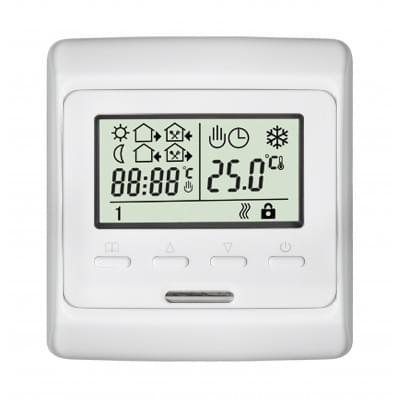 Купить Терморегулятор для теплого пола Е 51.716 Терморегуляторы Eastec для теплого пола polvteplo.ru