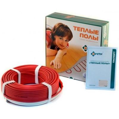Купить Теплый пол в стяжку ЧТК СН-15-3000 ВТ (27,0-30,0м2) Кабельный теплый пол ЧТК СН-15 Вт/м polvteplo.ru