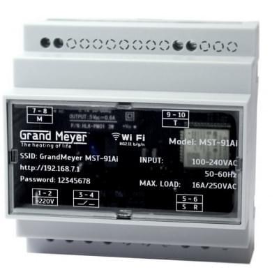 Купить Метеостанция Grand Meyer MST-91Ai WI-FI Метеостанция Grand Meyer для греющего кабеля polvteplo.ru