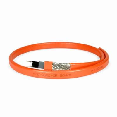 Купить Греющий кабель для ступеней и площадок HEATUS 80EYGSR2-CR (экранированный) Саморегулирующийся кабель Heatus на отрез polvteplo.ru