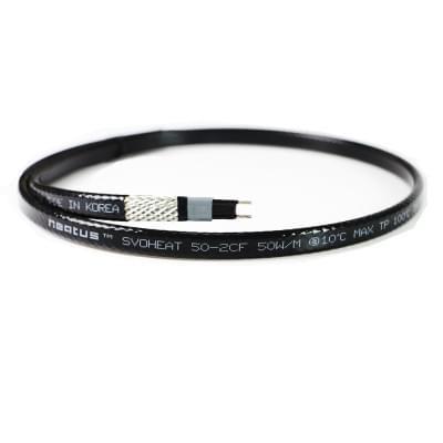 Купить Греющий кабель HEATUS SVOHEAT 50-2CF  Саморегулирующийся кабель Heatus на отрез polvteplo.ru