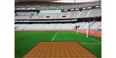 Греющий кабель для газона и футбольных полей
