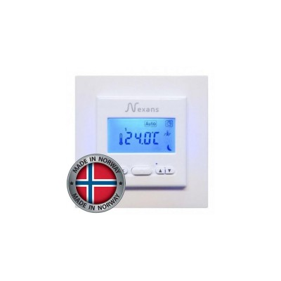 Купить Терморегулятор для теплого пола Nexans N-Comfort TD (программируемый, Elko Plus, Schneider Exxact) Терморегуляторы Nexans для теплого пола polvteplo.ru