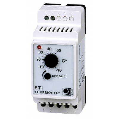 Купить Терморегулятор для греющего кабеля OJ Electronics ETI-1551  Терморегуляторы OJ Electronics (Microline) для греющего кабеля polvteplo.ru