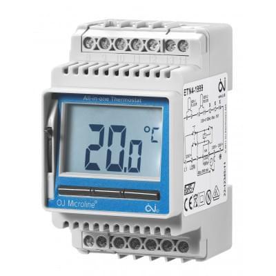 Купить Терморегулятор для греющего кабеля OJ Electronics ETN4-1999 Терморегуляторы OJ Electronics (Microline) для греющего кабеля polvteplo.ru
