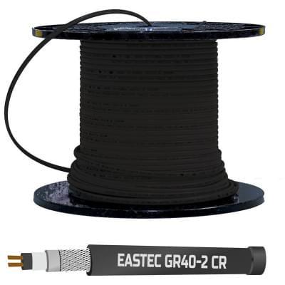 Купить EASTEC GR 40-2 CR  Греющий кабель для кровли polvteplo.ru
