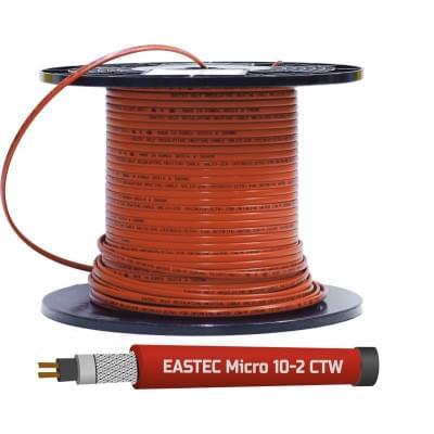 Купить Греющий кабель внутрь трубы EASTEC MICRO 10-CTW (пищевой) Греющий кабель Eastec на отрез polvteplo.ru