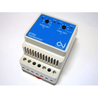 Купить OJ Electronics ETR2  Терморегулятор, метеостанция polvteplo.ru