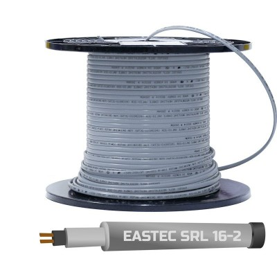 Купить Греющий кабель для труб EASTEC SRL 16-2 Греющий кабель Eastec на отрез polvteplo.ru