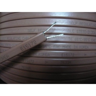 Купить Греющий кабель для труб EASTEC STB 30-2 Греющий кабель Eastec на отрез polvteplo.ru