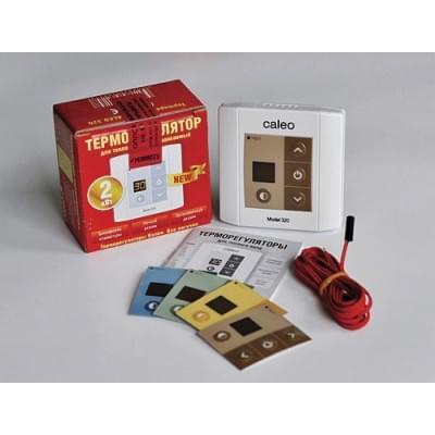 Купить Терморегулятор для теплого пола Caleo 320 (встраиваемый) Терморегулятор Caleo для теплого пола polvteplo.ru