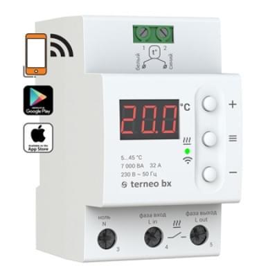 Купить Терморегулятор для теплого пола Terneo bx Терморегуляторы Terneo для теплого пола polvteplo.ru
