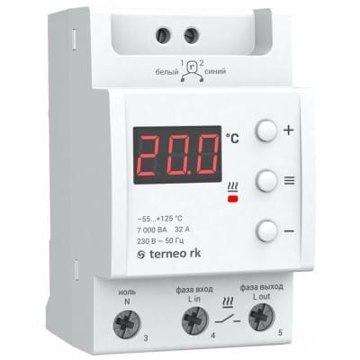 Купить Терморегулятор для электрических котлов Terneo rk Терморегуляторы Terneo для электрических котлов polvteplo.ru