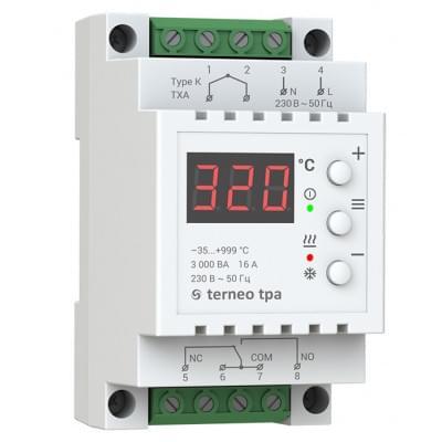 Купить Терморегулятор для высоких температур Terneo tpa Терморегуляторы Terneo для высоких температур polvteplo.ru