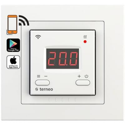Купить Wi-Fi терморегулятор для теплого пола Terneo ax unic Терморегуляторы Terneo для теплого пола polvteplo.ru