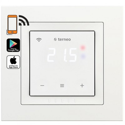 Купить Wi-Fi терморегулятор для теплого пола Terneo sx unic Терморегуляторы Terneo для теплого пола polvteplo.ru