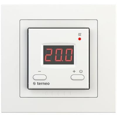 Купить Терморегулятор для теплого пола Terneo st unic Терморегуляторы Terneo для теплого пола polvteplo.ru